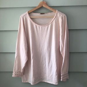 Soft Surroundings Size 1X XL Verona Pink Shirt